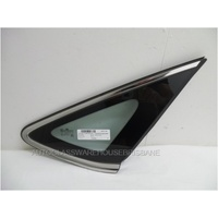 HYUNDAI i40 YF - 6/2012 to CURRENT - 4DR SEDAN - DRIVERS - RIGHT SIDE REAR OPERA GLASS - ENCAPSULATED