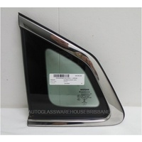 NISSAN QASHQAI DAJ11 - 6/2014 to CURRENT - 4DR WAGON - PASSENGERS - LEFT SIDE REAR OPERA GLASS