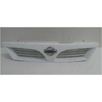 NISSAN PULSAR N15 - 10/1995 to 9/2000 - HATCH - GRILLE - 62310 0N000 - WHITE