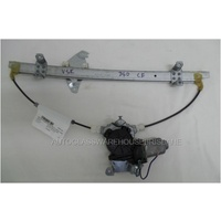 NISSAN NAVARA D40 - 12/2005 to 3/2015 - DUAL CAB - SPANISH BUILT - PASSENGERS - LEFT SIDE FRONT WINDOW REGULATOR - ELECTRIC