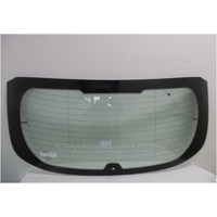 FORD FOCUS LW - 8/2011 to 6/2015 - 5DR HATCH - REAR WINDSCREEN GLASS - HEATED,WIPER HOLE, ANTENNA
