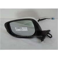HONDA JAZZ GE - 8/2008 to 06/2014 - 5DR HATCH - PASSENGERS - LEFT SIDE MIRROR - WHITE - E13 021453