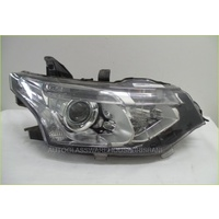 MITSUBISHI OUTLANDER ZJ/ZK - 11/2012 to CURRENT - 5DR WAGON - DRIVERS - RIGHT SIDE HEADLIGHT - ECM921-22 (BROKEN LUGG)