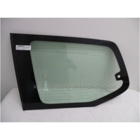 TOYOTA PRADO 120 SERIES - 2/2003 to 10/2009 - 5DR WAGON - LEFT SIDE REAR CARGO FLIPPER GLASS (WITH 2 AERIAL) - WIRE