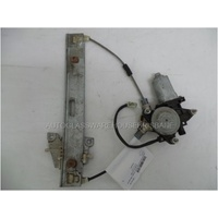 MAZDA TRIBUTE ED - 2/2001 to 6/2006 - 4DR WAGON - PASSENGERS - LEFT SIDE REAR WINDOW REGULATOR - ELECTRIC