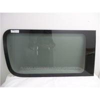 LDV V80 - 4/2013 TO CURRENT - VAN - RIGHT SIDE REAR BONDED FIXED WINDOW GLASS - GENUINE - 1060 x 555