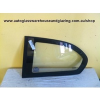HYUNDAI ACCENT LC - 5/2000 to 4/2006 - 3DR HATCH - LEFT SIDE OPERA GLASS - ENCAPSULATED