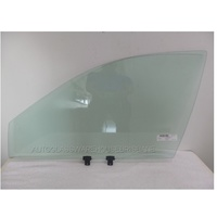 HYUNDAI LANTRA J2 - 8/1995 to 7/2000 - 4DR SEDAN/WAGON - LEFT SIDE FRONT DOOR GLASS - GREEN