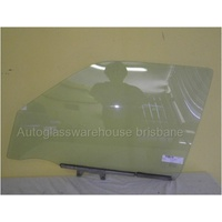 HYUNDAI SONATA HAF - 1/1989 to 9/1993 - 4DR SEDAN - PASSENGERS - LEFT SIDE FRONT DOOR GLASS