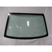 MAZDA 626 GF - 8/1997 to 8/2002 - 4DR SEDAN - REAR WINDSCREEN GLASS - GREEN - 1250 X 725