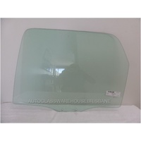 MAZDA TRIBUTE ED - 7/2006 to 3/2008 - 4DR WAGON - LEFT SIDE REAR DOOR GLASS - GREEN