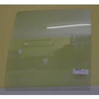 HOLDEN COMMODORE VB/VL - 4DR SEDAN 11/78>8/88 - LEFT SIDE REAR DOOR GLASS - GREEN