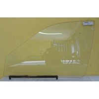 HOLDEN BARINA MF/MH - 1/1989 to 4/1994 - SEDAN/HATCH - PASSENGERS - LEFT SIDE FRONT DOOR GLASS