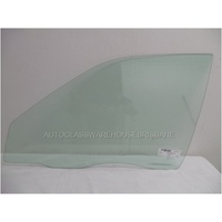 TOYOTA COROLLA AE101/AE102 SECA - 9/1994 TO 10/1999 - SEDAN/HATCH - PASSENGERS - LEFT SIDE FRONT DOOR GLASS