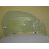 TOYOTA RAV4 20 SERIES - 7/2000 to 12/2005 - 3DR WAGON - RIGHT SIDE FRONT DOOR GLASS - WITH FITTING