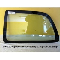 TOYOTA STARLET 90SERIES KP90 - 3/1996 to 9/1999 - 3DR HATCH - LEFT SIDE OPERA GLASS