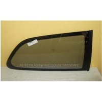 MITSUBISHI MIRAGE CE - 7/1996 to 9/2003 - 3DR HATCH - RIGHT SIDE REAR OPERA GLASS