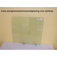 NISSAN PATROL GU - 11/1997 to CURRENT - 4DR WAGON - PASSENGERS - LEFT SIDE REAR DOOR GLASS