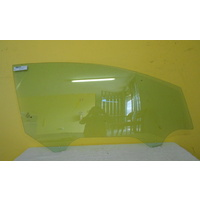 FORD FIESTA WS/WT - 3DR HATCH 2009>CURR - DRIVERS-RIGHT SIDE-FRONT DOOR GLASS