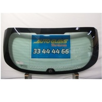 FORD FOCUS LW/LZ - 8/2011 to CURRENT - 5DR HATCH - REAR WINDSCREEN GLASS (1265 X 525) - HEATED - WIPER HOLE