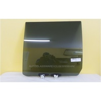 GREAT WALL X240 H3/H5 - 10/2009 to 12/2014 - 4DR WAGON - PASSENGERS - LEFT SIDE REAR DOOR GLASS - PRIVACY GREY