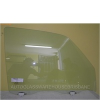 NISSAN PATROL GU - 11/1997 to CURRENT - UTE/WAGON - DRIVERS - RIGHT SIDE FRONT DOOR GLASS - WITH FITTING