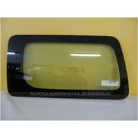 HUMMER H3 7/2007 to 12/2009 - 4DR SUV - PASSENGERS - LEFT SIDE REAR CARGO GLASS