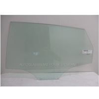 HYUNDAI ACCENT - 7/2011 TO CURRENT - 4DR SEDAN - LEFT SIDE REAR DOOR GLASS