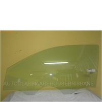HYUNDAI i20 PB - 7/2010 to CURRENT - 3DR HATCH - LEFT SIDE FRONT DOOR GLASS
