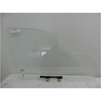 HYUNDAI EXCEL X3 - 9/1994 to 4/2000 - SEDAN/HATCH - DRIVERS - RIGHT SIDE FRONT DOOR GLASS