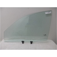 KIA OPTIMA GD - 5/2001 to 2/2003 - 4DR SEDAN - PASSENGERS - LEFT SIDE FRONT DOOR GLASS - WITH 2 HOLES