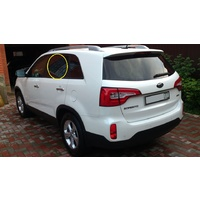 KIA SORENTO WAGON10/09 to 4/12 XM LEFT SIDE REAR DOOR GLASS