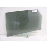MAZDA 3 BK - 7/2006 to 3/2009 - 5DR HATCH - LEFT SIDE REAR DOOR GLASS - (LARGER HOLE)