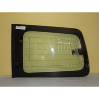 MITSUBISHI PAJERO NS/NT - 4WD WAGON 11/06>CURRENT - LEFT SIDE CARGO GLASS (with Aerial) - Green