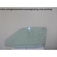 DAEWOO CIELO GL/GLX - 10/1995 to 7/1998 - 3DR HATCH - PASSENGER - LEFT SIDE FRONT DOOR GLASS