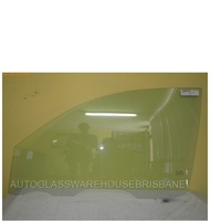 MITSUBISHI TRITON ML/MN - 6/2006 to 4/2015 - 2DR CLUB CAB UTE - PASSENGERS - LEFT SIDE FRONT DOOR GLASS