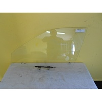 HYUNDAI EXCEL X3 - 9/1994 to 4/2000 - SEDAN/HATCH - PASSENGERS - LEFT SIDE FRONT DOOR GLASS