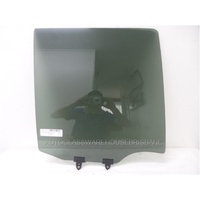 NISSAN PATHFINDER R51 - 7/2005 to 10/2013 - 4DR WAGON - DRIVERS - RIGHT SIDE REAR DOOR GLASS - PRIVACY GREY