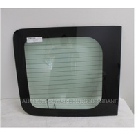 RENAULT TRAFFIC X83 - 2004 to 2015 - LWB/SWB - VAN - LEFT SIDE REAR BARN DOOR GLASS - GREEN - HEATED (DOES NOT SUIT HIGH ROOF)