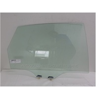 SUBARU IMPREZA G3 - 8/2007 to 1/2012 - 5DR HATCH/4DR SEDAN - RIGHT SIDE REAR DOOR GLASS - GREEN