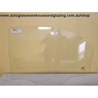 DAEWOO LANOS - 8/1997 to 1/2004 - 4DR SEDAN/5DR HATCH - PASSENGERS - LEFT SIDE REAR DOOR GLASS