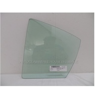SUBARU LIBERTY 5TH GEN - 9/2009 to 12/2014 - 4DR SEDAN - LEFT SIDE REAR QUARTER GLASS - GREEN (IN REAR DOOR)