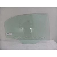 DAEWOO NUBIRA J100/J150 - 7/1997 TO 12/2003 - 4DR SEDAN/5DR HATCH - DRIVERS - RIGHT SIDE REAR DOOR GLASS