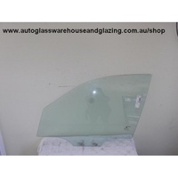 DAEWOO NUBIRA J100/J150 - 7/1997 TO 12/2003 - SEDAN/HATCH/WAGON - PASSENGERS - LEFT SIDE FRONT DOOR GLASS