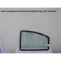 DAEWOO CIELO GL/GLX - 10/1995 to 7/1998 - 3DR HATCH - PASSENGER - LEFT SIDE REAR FLIPPER GLASS