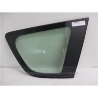 TOYOTA RAV4 30 SERIES - 1/2006 to 2/2013 - 5DR WAGON - DRIVERS - RIGHT SIDE REAR CARGO GLASS - ENCAPSULATED (ORIGINAL PART) - GREEN