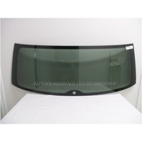 VOLKSWAGEN TOUAREG 7P 4WD - 7/2011 to 12/2018 - 5DR WAGON - REAR WINDSCREEN GLASS - HEATED - GREEN