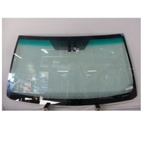 TOYOTA PRADO 150 SERIES - 11/2009 to CURRENT - 3DR/5DR WAGON - FRONT WINDSCREEN GLASS - RAIN SENSOR  BRACKET, MIRROR BUTTON, MOULDING