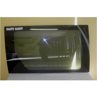 CHRYSLER GRAND VOYAGER SWB LWB - 5/2001 TO 5/2007 - 5DR WAGON - DRIVERS - RIGHT SIDE REAR SLIDING DOOR WINDOW GLASS