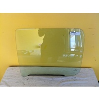 HOLDEN COLORADO UTE 7/08 to 12/11 RC   2DR SPACE CAB LEFT SIDE REAR DOOR GLASS